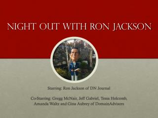 Night out with Ron Jackson