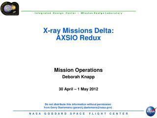 X-ray Missions Delta: AXSIO  Redux