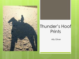 Thunder's Hoof Prints