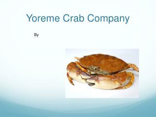Yoreme  Crab Company