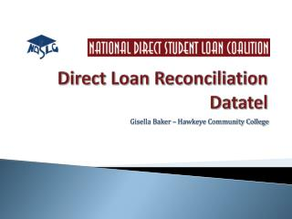 Direct Loan Reconciliation Datatel