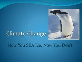 Climate Change :