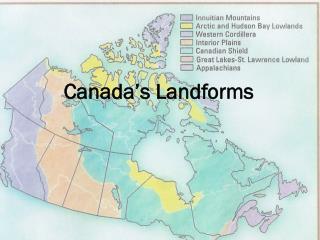 Canada's Landforms
