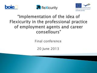 Final conference 20  June  2013
