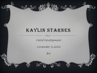 Kaylin Starnes