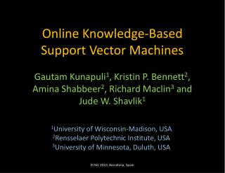 Online Knowledge-Based Support Vector Machines