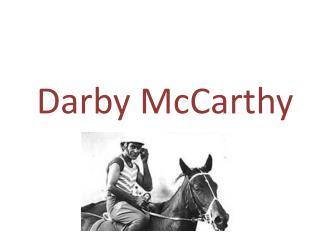 Darby McCarthy