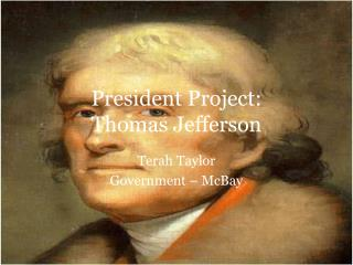 President Project: Thomas Jefferson