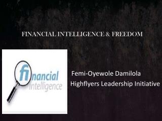 FINANCIAL INTELLIGENCE & FREEDOM
