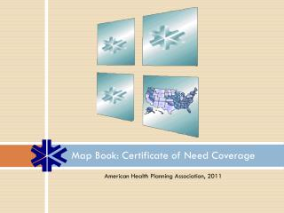 Map Book: Certificate of Need Coverage