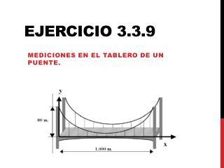 Ejercicio 3.3.9