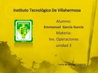 Instituto  Tecnol�gico  De Villahermosa