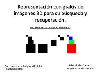 Representación con  grafos  de imágenes 3D para su búsqueda y recuperación .