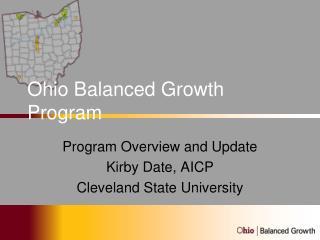 Ohio Balanced Growth Program