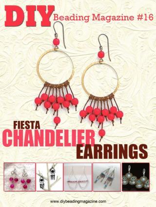 Fiesta chandelier earrings By Erin Siegel Jewelry - Erin Siegel