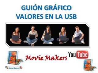 GUIÓN GRÁFICO VALORES EN LA USB