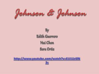 By  Edith Guerrero Hui  Chen Sara Ortiz youtube/watch?v=EJJ1Uz5lN2s