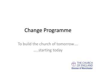 Change Programme