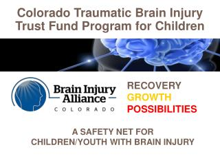 Colorado Traumatic Brain Injury  Trust Fund Program for Children