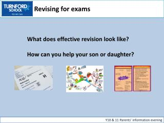 What does effective revision look like? How can you help your son or daughter?