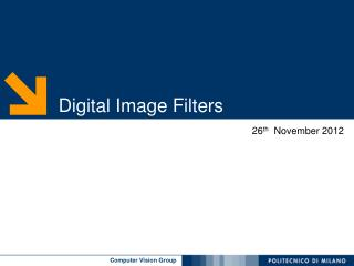 Digital Image  Filters