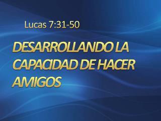 Lucas 7:31-50