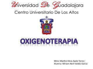 U niversidad D e G u adalajara Centro Universitario De Los Altos