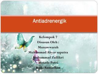 Antiadrenergik