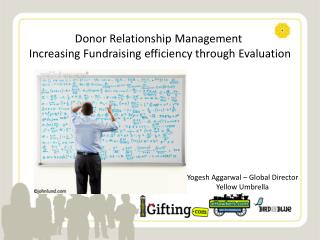 Donor Relationship Management   Increasing Fundraising efficiency through Evaluation