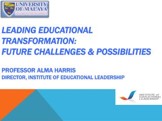 High Performing Education Systems