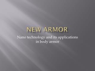 New armor