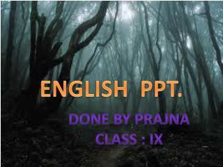 ENGLISH  PPT.