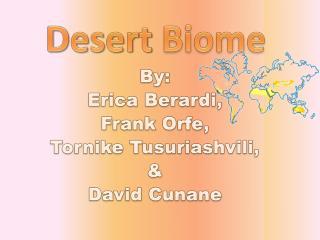 By: Erica  Berardi , Frank  Orfe , Tornike Tusuriashvili , & David  Cunane