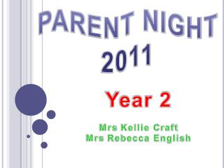 PARENT NIGHT 2011