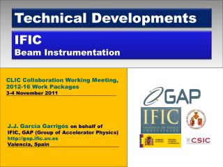IFIC Beam Instrumentation