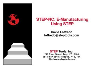 STEP-NC: E-Manufacturing Using STEP