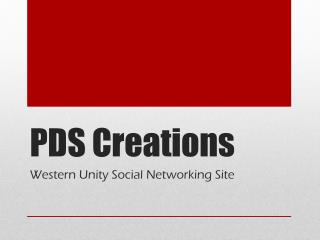 PDS Creations