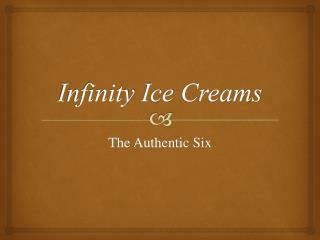 Infinity  Ice  Creams