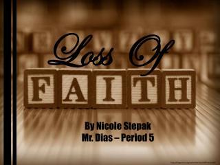 Loss Of