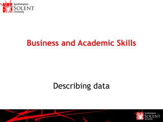 Business and Academic Skills