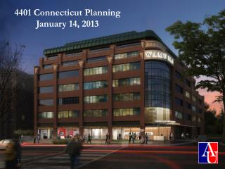 4401 Connecticut Planning January 14, 2013