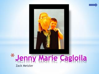 Jenny  M arie Cagloila