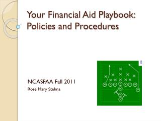 Your Financial Aid Playbook:  Policies and Procedures