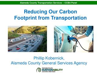 Reducing Our Carbon Footprint from Transportation