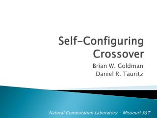 Self-Configuring Crossover