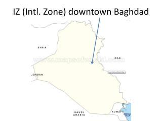 IZ (Intl. Zone) downtown Baghdad