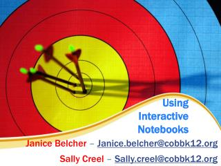 Using  Interactive  Notebooks