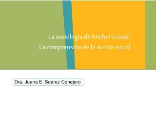 Dra. Juana E. Suárez Conejero