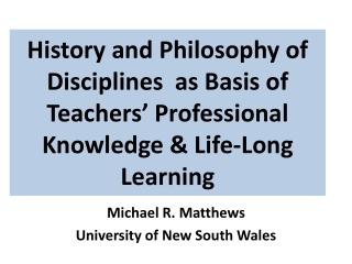 PRACTISING THE SCHOLARSHIP OF LEARNING  TEACHING