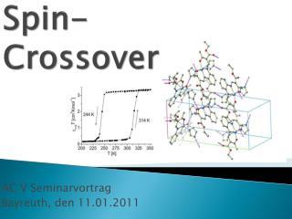 Spin-  Crossover